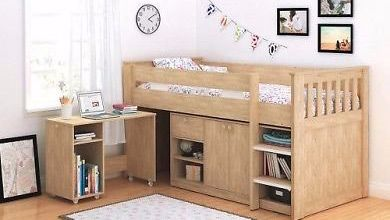 bunkbed and storage solution
