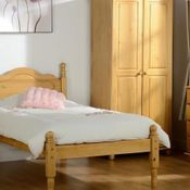 A matching bedroom with furniture from our store